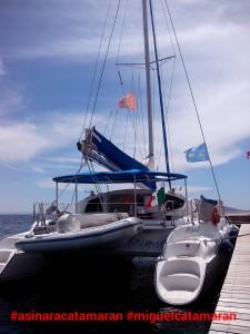 miguel catamaran asinara catamaran  - cala reale asinara