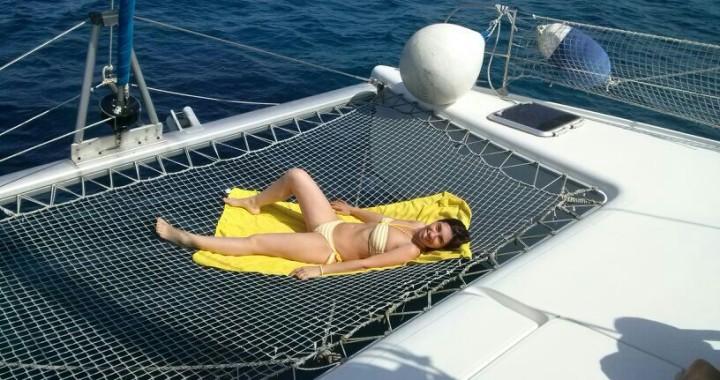 relax in catamarano #asinaracatamaran