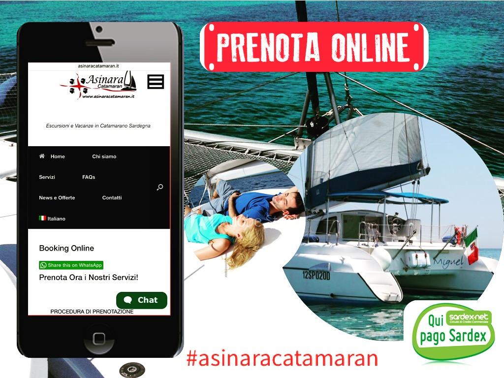 Prenota online Asinara Catamaran