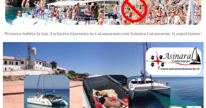 Banner giornata esclusiva in catamarano