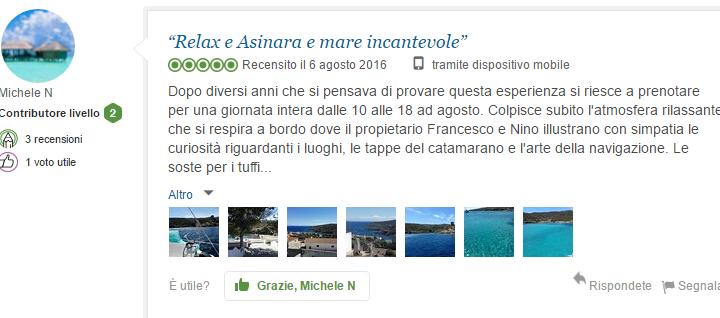 recensione asinara catamaran catamaran vacanza in catamarano
