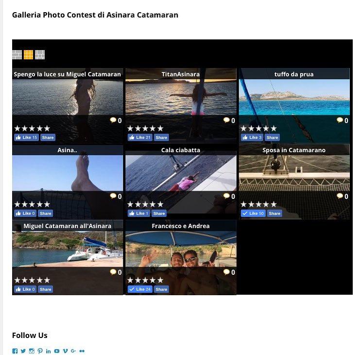 vincitori photo contest asinara catamaran