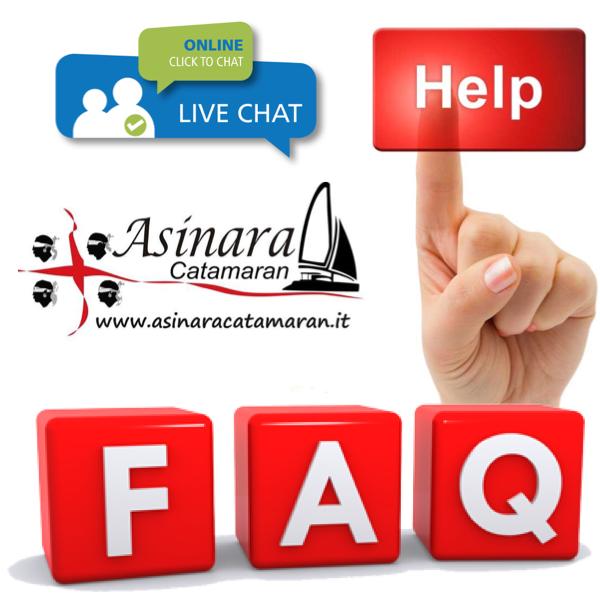 Faqs le domande più comuni su Asinara Catamaran